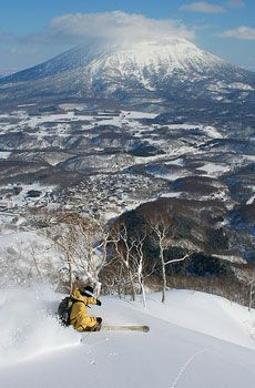 Ski, Niseko, Japan.