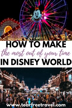 Disney World is always constantly changing and adding features and if you haven't been to Disney for a while you may be a little overwhelmed by how much the parks have changed in just the last few years. To avoid getting stuck or lost, here's the ultimate guide on how you can make the most out of your time at Disney World.