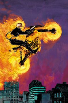Vengeance is a Family Business in Ed Brisson's Ghost Rider Marvel Comics Art, Marvel Comic Universe, Comics Universe, Marvel Heroes, Ms Marvel, Captain Marvel, Ghost Rider Johnny Blaze, Ghost Rider Marvel, New Ghost Rider