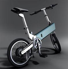 self rechargeable folding bike bicx