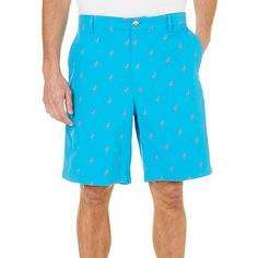 Boca Classics combines casual style and comfort in these shorts. Shorts feature two front pockets, button-through back pockets, a cell phone pocket, and...