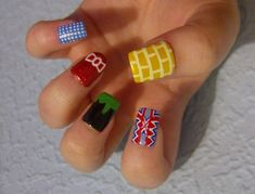 16 Types Of Amazing If Impractical Pop Culture Nail Art: The Wizard of Oz