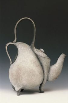 Carol Wedemeyer. Ceramic teapot - 021