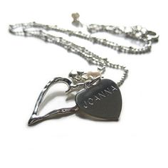 Aye Do Ltd - Open Heart Pendant (yd), £19.99 (http://www.ayedoweddings.co.uk/open-heart-pendant-yd/)