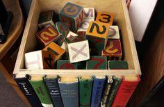The Original Modern Library Storage Bin por RoadsidePhotographs