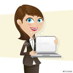 https://cz.dollarphotoclub.com/stock-photo/cartoon smart girl showing laptop blank screen/67333496 Dollar Photo Club miliony kvalitních obrázků za 1$ za každý