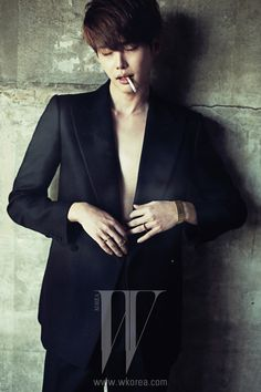 3rd Batch Of Lee Jong Seok's W Korea Shots From The December 2013 Issue | Couch Kimchi