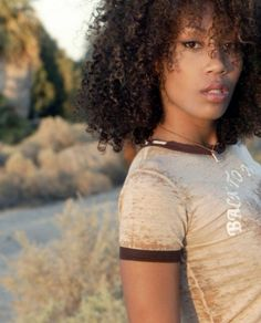 Black African American Female Model | Our Natural Hair Nation | Profiles on Black Women Who Embrace the ...