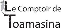 """Logo """"Le Comptoir de Toamasina"""""""