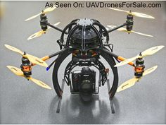 Droidworx SkyJib X4 Heavy Lift (RTF) Ready to Fly Package, 8 Motor Quadcopter for Cinematography - See more at: http://uavdronesforsale.com/index.php?page=item&id=273