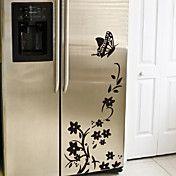 Πεταλούδα λουλούδι Ψυγείο τοίχο αυτοκόλλητα τ... – EUR € 17.18