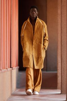 Duster Jacket, Kimono Jacket, Funky Fashion, Mens Fashion, Milan Fashion, Male Fashion Trends, Unisex, Spring Collection, Work Wear