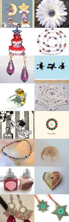 Stars and Sparkles by Hari on Etsy--Pinned with TreasuryPin.com #novemberfinds