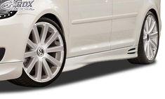 "LK Performance RDX Sideskirts VW Touran 1T1 Facelift 2011+ ""GT4"" touran 1t1 Vw Touran, Carbon Black, Vacuum Forming, Mud, Racing, Running, Auto Racing"
