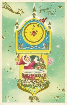 Stamps, coins and banknotes, postcards or any other collectable items are on Delcampe! Christmas Sheet Music, Christmas Past, All Things Christmas, Winter Christmas, Christmas Crafts, Vintage Christmas Images, Vintage Holiday, Christmas Postcards, Vintage Cards