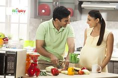 FitnSpicy Living - Eating Right During Pregnancy
