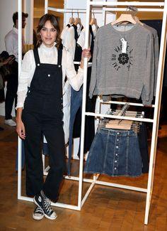 Alexa Chung Photos: Alexa Chung Launches Jeans Collection