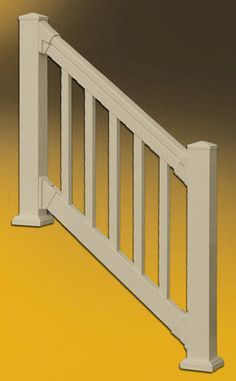 QuickRail Square Spindles / Deluxe TopRail / Brackets at Menards $69.99
