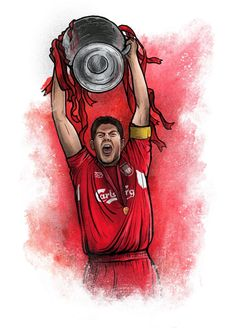 Stylish football illustrations of football stars such as Cristiano Ronaldo, Leo Messi, Neymar and Paul Pogba and more created by . Liverpool Girls, Ynwa Liverpool, Liverpool Soccer, Liverpool Legends, Liverpool Fc Wallpaper, Skateboard Deck Art, Champions Of The World, Football Art, Tee Shirt Designs