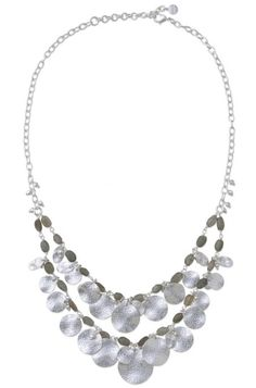 Style with a sophisticated labradorite stone & silver coin necklace from Stella & Dot. Find fashion necklaces, trendy necklaces, pendants, chokers & more.