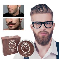 Professional Natural Beard Cream Conditioner Balm Organic Moustache Conditioner Beard Wax For Caring Smooth Styling TSLM2 Price: 10.80 & FREE Shipping #hashtag3 Beard Wax, Types Of Beards, Beard Look, Shaving Soap, Hair And Beard Styles, Moustache, Bearded Men, Eyelashes, The Balm