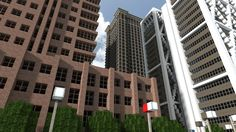 High Rossferry City -Amazingly detailed Minecraft city.