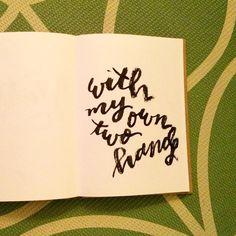 #lettering #handlettering #brushlettering