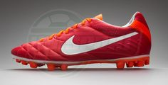 Nike Tiempo Legend IV ACC Sunburst/White/Total Crimson