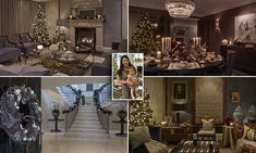 EXCLUSIVE: Interior designer and mother Sophie Paterson, 33, gave FEMAIL a glimpse inside her Surrey mansion, to reveal how she makes her plush home look so chic at Christmas.