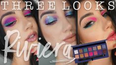 ABH RIVIERA PALETTE | Three Looks + Review