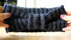DIY, knitting headband, winter cozy headband with simple pattern, must have this fasion season