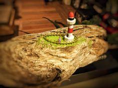 lighthouse drifrwood