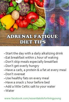 Great diet tips for adrenal fatigue sufferers! A great alkalizing drink is lemon water. Even if you don't have the lemon oil, just squeeze some fresh lemon into a class of water and sweeten, if you like. www.facebook.com/essentialoilsforlivingyoung