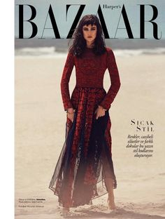 Jacquelyn Jablonski for Harpers Bazaar Turkey. This dress was from one of my all-time favourite Valentino collections!