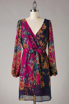 Flowered Print Dress! ♥ ($58)