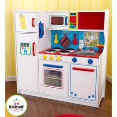 Amazon.com: Kidkraft Deluxe Let's Cook Kitchen: Toys & Games (C)