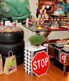 Disney Pixar Car Party Birthday Party Ideas   Photo 4 of 43   Catch My Party
