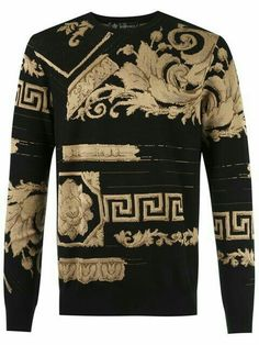 03998e095 Gianni Versace, Versace Versace, Versace Fashion, Versace Clothing, Gucci,  Men Sweater