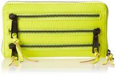Rebecca Minkoff 3-zip Wallet $98.20