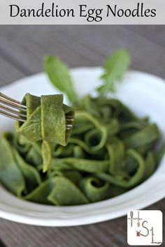 Use the abundance of early spring by making up a batch of dandelion egg noodles for a comforting and nutritious twist on a homemade classic.