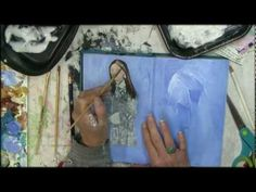Altered Book- Modify Illustrations and Photos - YouTube