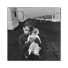 Breann Benedict, goverment flood housing,Grand Forks, North Dakota, 1997  Mary Ellen Mark