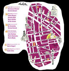 Map Neukoln by Doro Petersen and Ulrike Zimmer