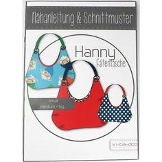 Schnittmuster - Hanny Faltentasche - Ki-Ba-Doo