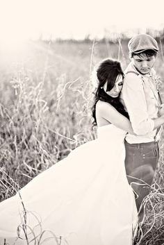 Newsies wedding style... some day, whenever I find the one... He has to wear a vest, Broadway style.