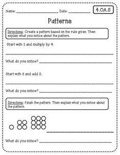 1000 images about maths patterning algebra on pinterest mental maths number patterns and. Black Bedroom Furniture Sets. Home Design Ideas