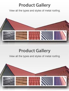 Images homes with unpainted galvalume roof google search for Roof material types pictures