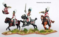 BAV 40 Dragoon command galloping 1805-11, Perry Miniatures