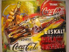Steve Pendley painting - World of Coca Cola by littletheories, via Flickr