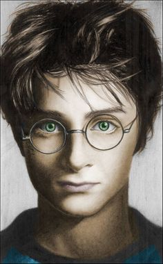 Harry Potter colore by nikki13088 on DeviantArt